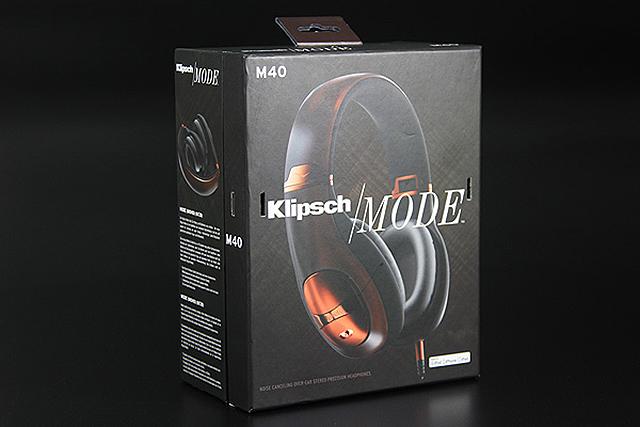 這就是本次開箱的主角Klipsch Mode M40耳罩式消噪耳機。