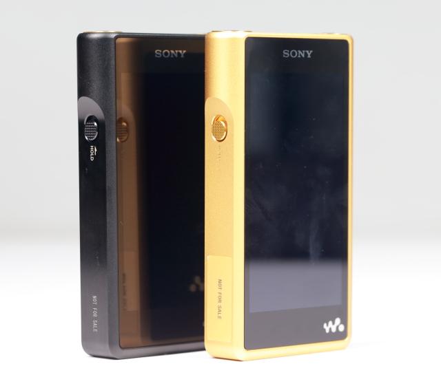 Sony新推出的「大三元」之一,NW-WM1Z/A Walkman數位隨身聽。