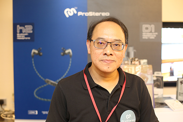 ProStereo營運總監曾耀豪先生。
