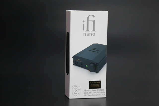 iFi於去年底新發表的nano iDSD BL黑標版本。