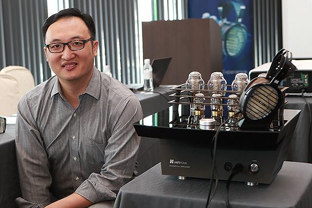 挑戰巔峰-HiFiMan發表5萬美金Shangri-La靜電耳機系統