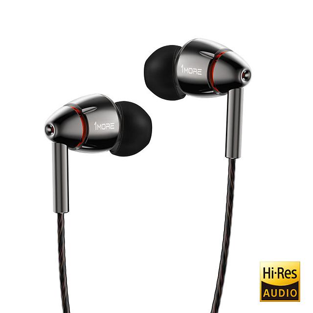 動圈 + 平衡電樞-1More E1010耳道式耳機
