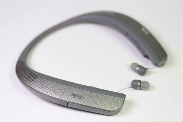 穿戴式劇院-LG HBS-W120藍牙耳機