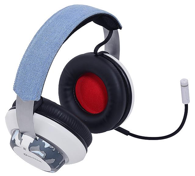 雙麥克風設計-Alteam GM-577迷彩電競耳麥
