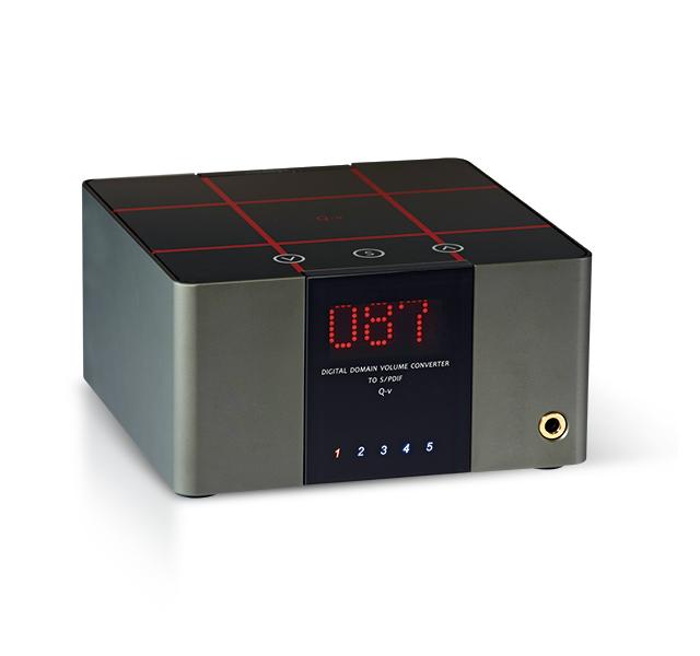 音量控制多達118階-DA&T Qv數位前級耳機擴大機