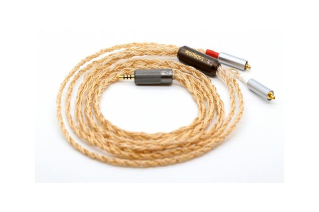 純銀鍍金導體-Labkable Titan-Au耳機升級線