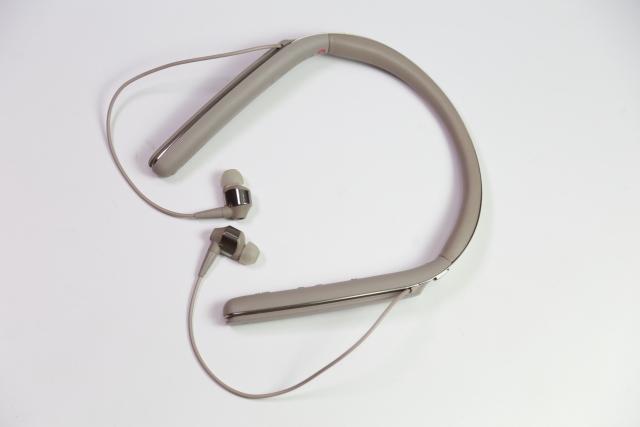 智慧抗噪調整-Sony WI-1000X頸掛式藍牙耳機