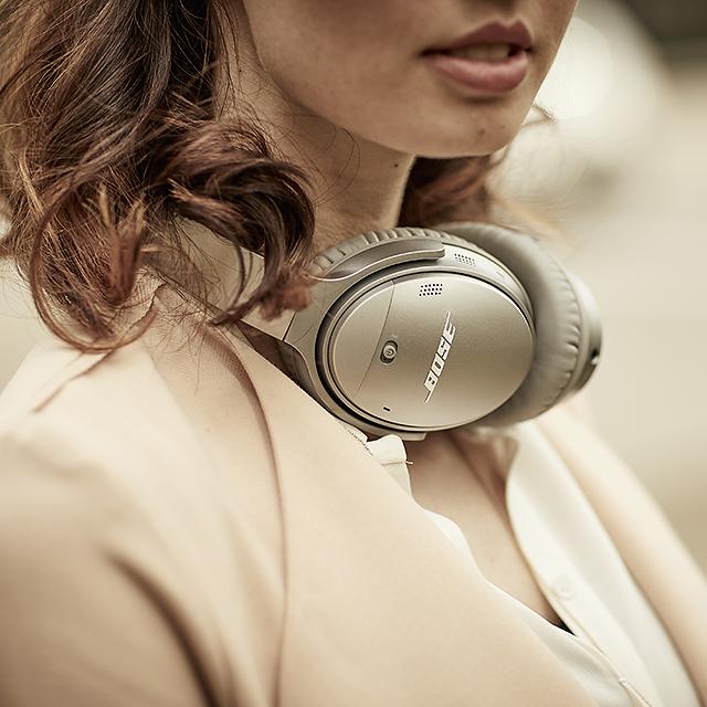 抗噪程度可任意調整-Bose QC35 II主動式抗噪耳機