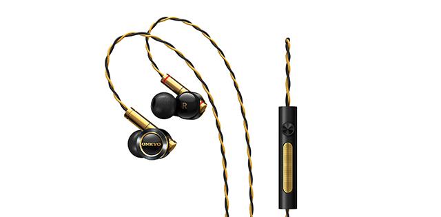 動鐵混合設計,專為Hi-Res打造-Onkyo E900M耳道式耳機