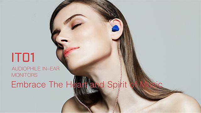 超輕石墨烯振膜-iBasso IT01耳道式耳機