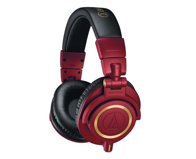 紅金配色,讓經典更搶眼-audio-technica ATH-M50x RD耳罩式耳機
