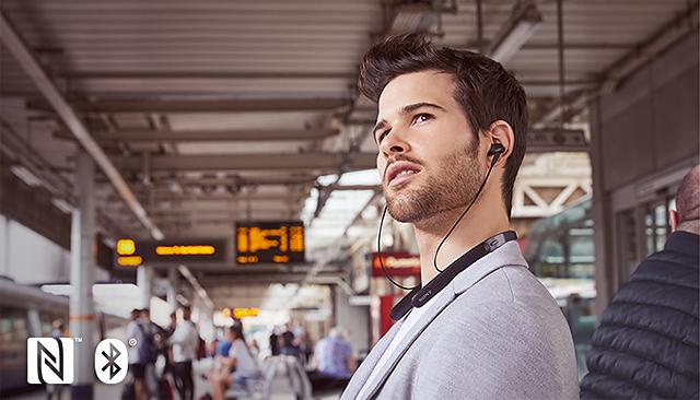 年終精選6款頸掛式無線耳機-Sony WI-1000X