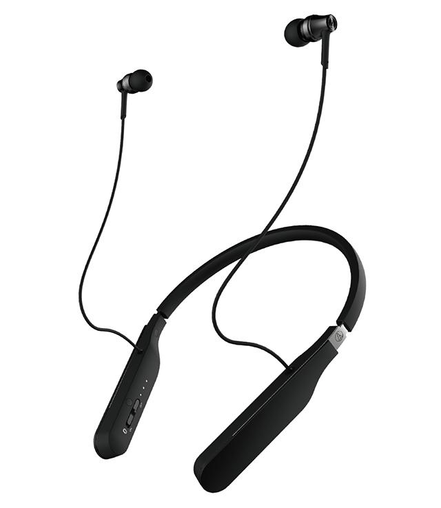 搭載全數位驅動系統-Audio-Technica ATH-DSR5BT頸掛式耳機