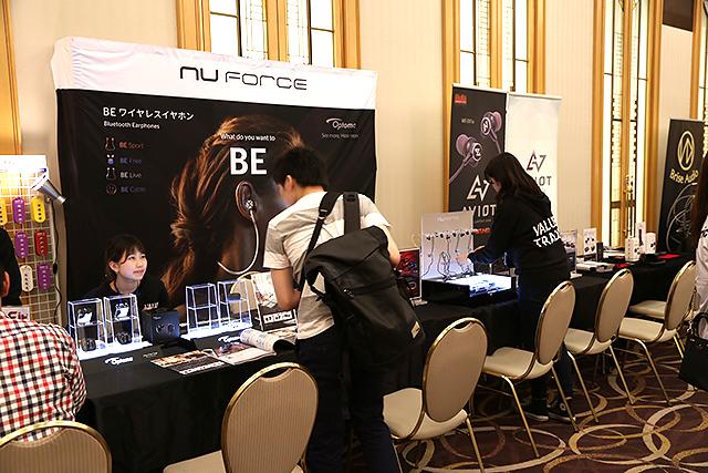 2018東京春季耳機祭-NuForce第二彈BE Free5真無線耳機