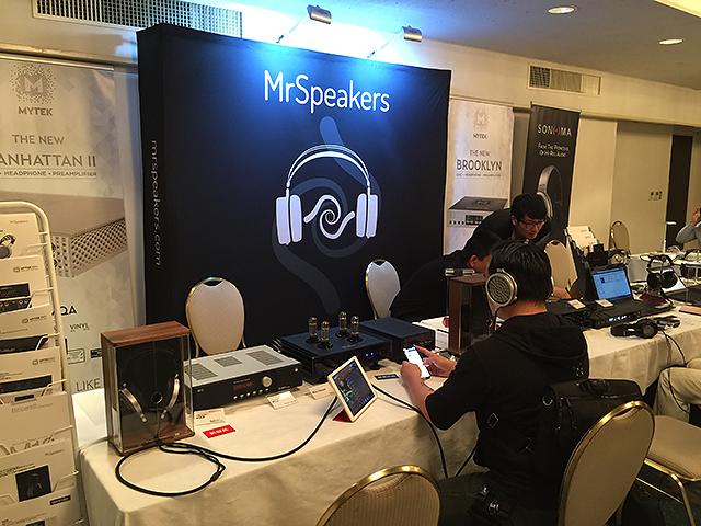 2018東京春季耳機祭-MrSpeakers VOCE靜電耳機