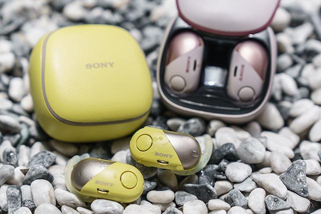 瞄準運動族群-Sony WF-SP700N降噪防水真無線耳機