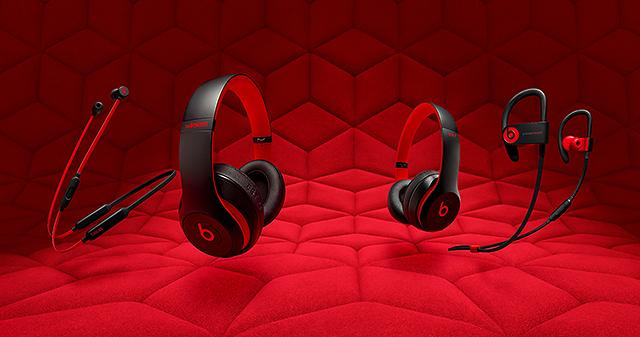紅黑不敗經典-Beats推出Decade Collection十週年系列