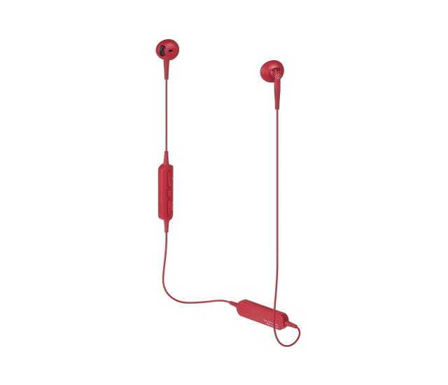 耳塞式設計配戴更舒服-Audio-Technica ATH-C200BT藍牙耳機