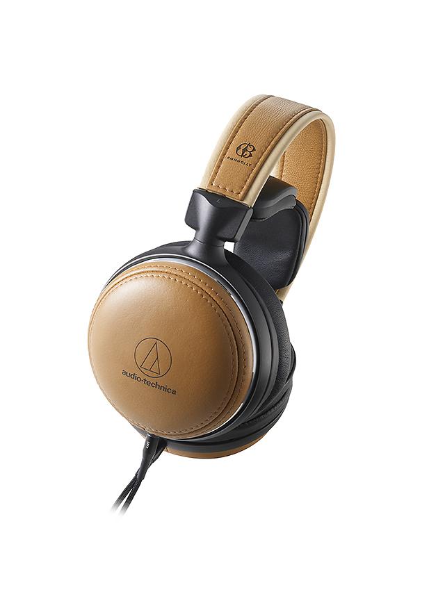 全球限量500副-Audio-Technica ATH-L5000楓木皮革耳機