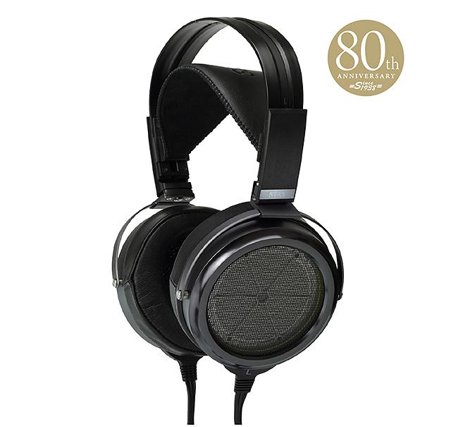 80週年紀念全球限量180台-Stax SR-009BK旗艦耳機